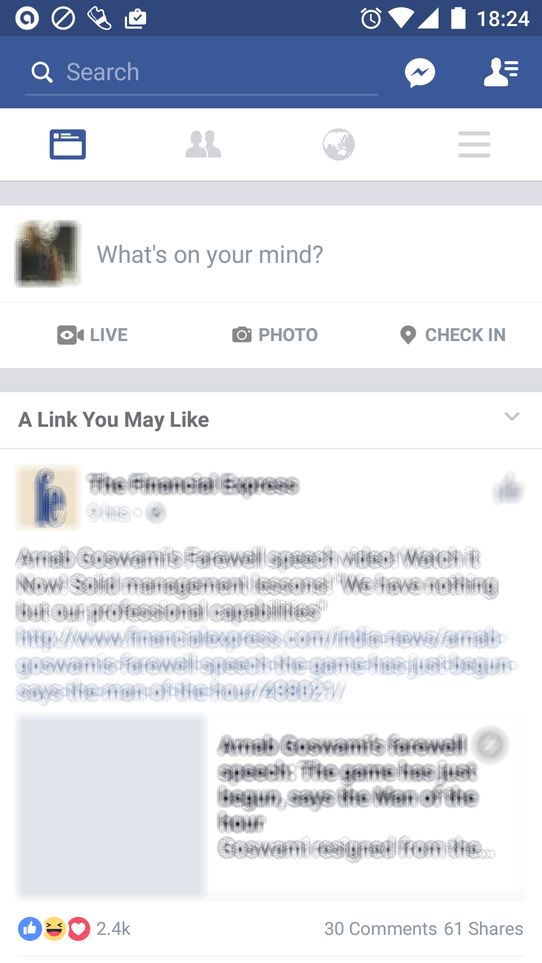 Facebook uses recommendation feature to increase engagement