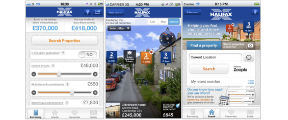 Want to mortgage a house? Halifax's Home Finder helps you do that and much more