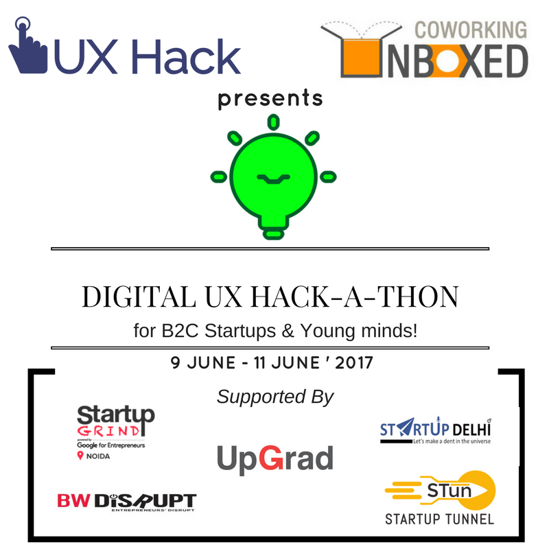 Unboxed-UX-Hack-a-thon banner