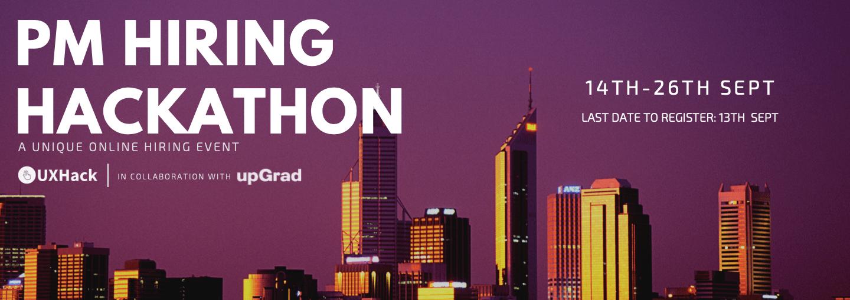 PM Hiring Hackathon  Banner