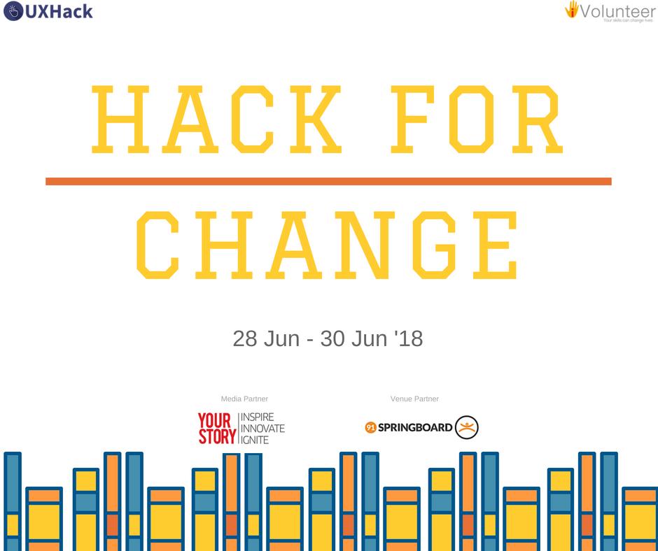 HackforChange banner